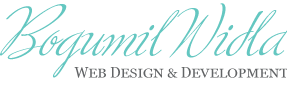 Bogumil Widla Web Design & Development Logo